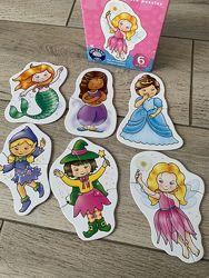 Пазлы Orchard Toys Герои сказок, крупные детали