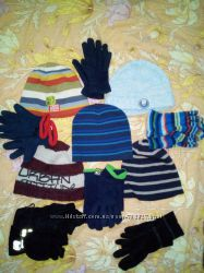 Брендовые шапки, шарф, рукавици на овчине