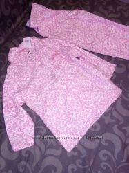Новые пижамы на баечке, теплые на 12-18 мес и 2-3 года.