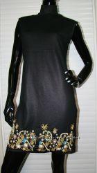 Платье IceL вышивка, камни, жемчуг