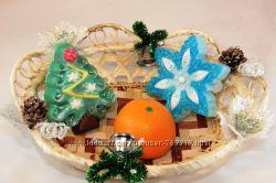 Подарки на Новый Год и Рождество. Красивое мыло ручной работы.
