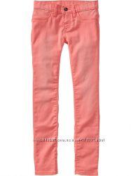 Замечательные весенние коралловые джинсы-скини Old Navy для яркой весны
