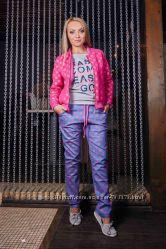Стильные штаны в горошек 42, 46 размер