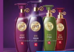 Лечебный корейский шампунь и бальзам ReEn LG Oriental от выпадения волос