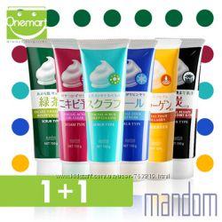 Пенки для умывания Mandom Fusain Facial Foam