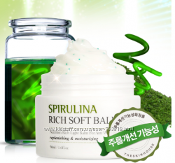 Крем-бальзам с экстрактом спирулины THE SKIN HOUSE Spirulina rich soft balm