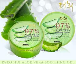 Гель для лица и тела  Алоэ RYEOHUI Aloe Vera Soothing & Moisture gel