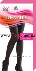 Теплые колготки DEA MIA Cotton 500 Den