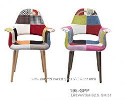 Стул Organic Patchwork, дизайнерское кресло Космо Пэчворк купить Киев