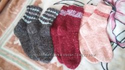 носки ручная вязка очень теплые