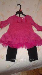 Платье и лосины из США на 3Т