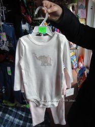 Бодик на длинный рукав и  лосины-юбка из США