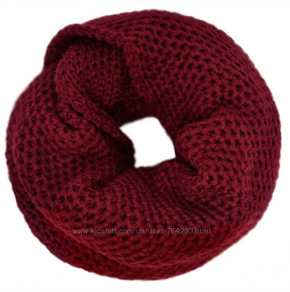 Мягкие шарфы-снуды для детей и подростков