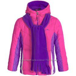 Теплые куртки Pacific Trail разных расцветок на 5-6 лет