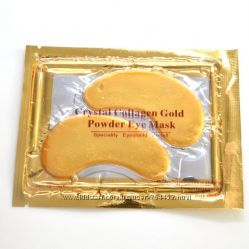 Коллагеновая маска с био-золотом для глаз Crystal Collagen GOLD Powder Eye
