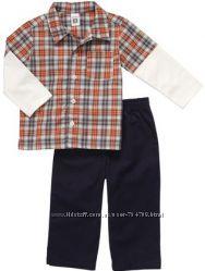 Трикотажные комплекты Carters для мальчиков 4, 5 лет из США