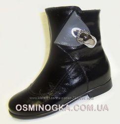 демисезонные ботинки на девочку ТМ Каприз р. 31 - 36