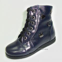 Демисезонные ботиночки для девочек тм Каприз 25 - 30р.
