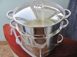 Соковарка 8 л, приготовление сока из ягод, овощей и фруктов, нержавеющая ст
