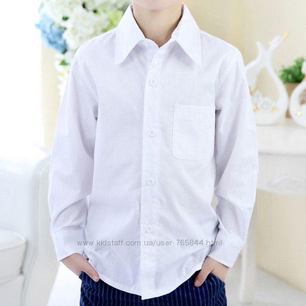 В наличии белая классическая рубашка