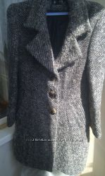 Стильное буклироованной пальто бойфренд