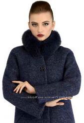 Пальто зимнее новинка шерсть от 42 до 50 размера