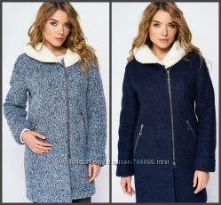 Зимнее пальто , шерсть до 50 размера