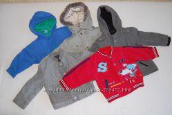 Модные куртки, ветровки, пальто на возраст от 1 до 2 лет