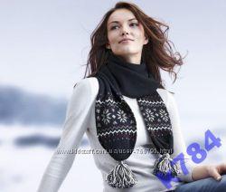 Модный шерстяной шарф от TCHIBO.