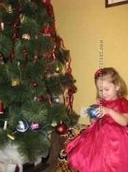 Нарядное платье к празднику на возраст 1год