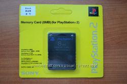 Карта памяти PS2 8Mb НОВАЯ