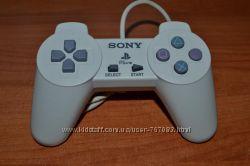 Джойстик на Sony PS1 белый Новый