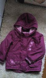 Демисезонная куртка Mothercare для девочки 6-7 лет