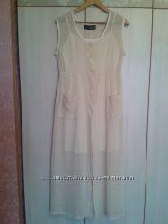 Платье-сарафан 2в1 в хорошем состоянии