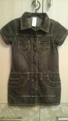 Платье джинс р. 116 PALOMINO в отличном состоянии