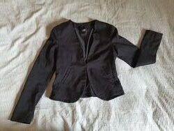 Жакет пиджак S размер-34, 12-14 лет, черный
