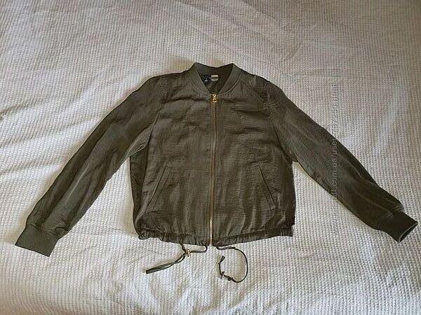 Курта легкая летняя зеленая, S, 6 34 размер