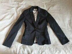 Жакет пиджак черный H&M размер EUR 36 US6 165/84А
