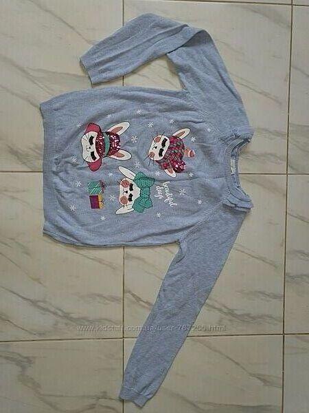 Кофточка свитер 10-12 лет, рост 136-152 см,  состав- 100 хлопок