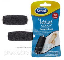 Сменные насадки для электрической роликовой пилки Scholl Velvet Smooth