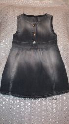 Джинсовый сарафанчик Gloria Jeans на 1-2 года