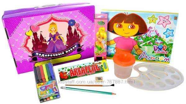 Подарочный набор для девочек Принцессы  39 предметов