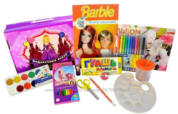 Подарочный набор для девочек Принцессы  72 предмета