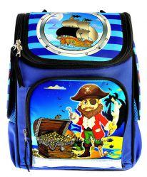 Ранец школьный ортопедический Vombato Пираты-2