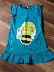 Продам красивое платье, футболки, брюки George, 3-4 г, состояние нового
