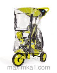 Дождевик на трехколесный велосипед 0344