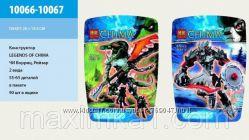Детский конструктор Bela Chima 10066-10067 2 вида, в пакете 19, 528 см