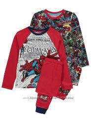 Пижама коттон для мальчика Spider Man Спайде George Англия от 2 до 10 лет