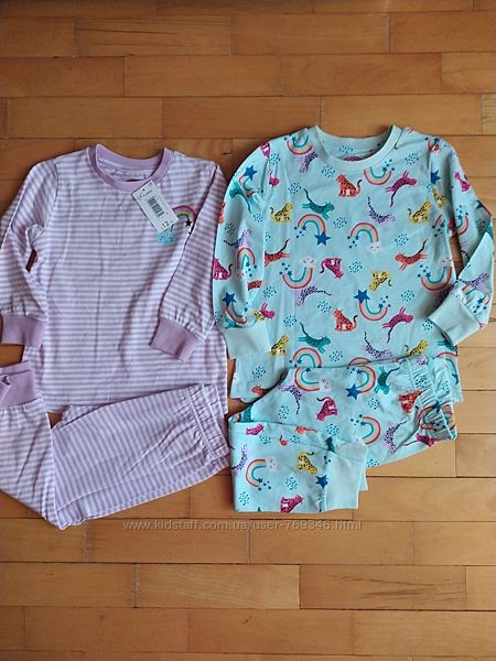 Комплект пижам matalan, размер 3-4 года
