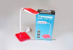 Настольна лампа Tiross Ts-57, сенсорна кнопка вклвикл. ,5, 5Вт 30 LE57 сенсор